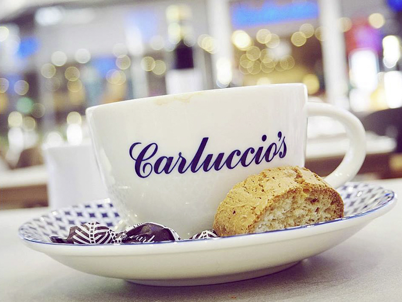 Carluccio's is located in City Centre Mirdif