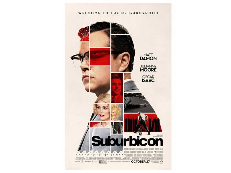 Suburbicon stars Matt Damon and Julianne Moore