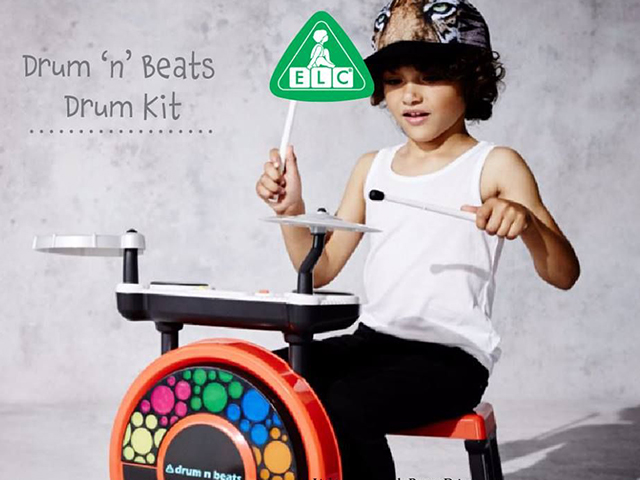 Drum N Beats Drum Kit ELC