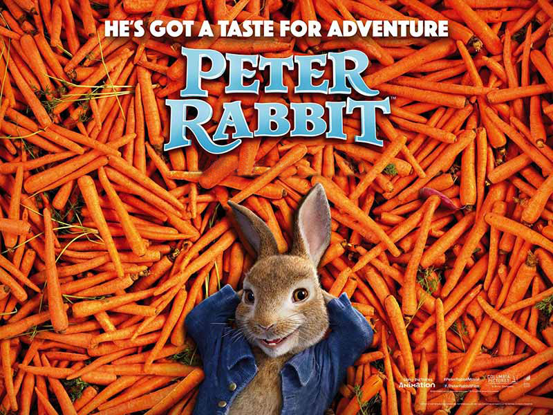 Watch James Cordon as Peter Rabbit at Vox Cinemas in Dubai