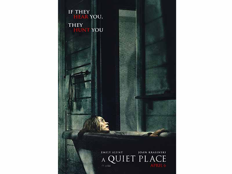 A Quiet Place movie poster at VOX Cinemas in Dubai