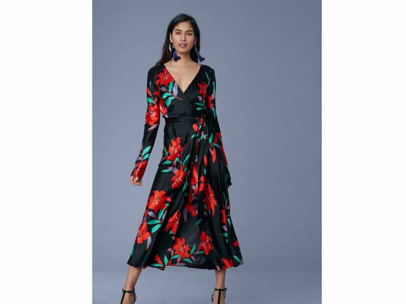 Diane von Furstenberg Wrap dress Dubai