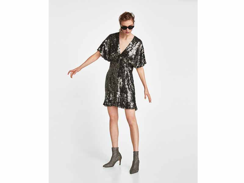 Zara's Sequin dress Dubai