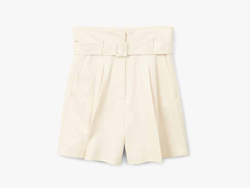 Belted shorts from Mango in Dubai
