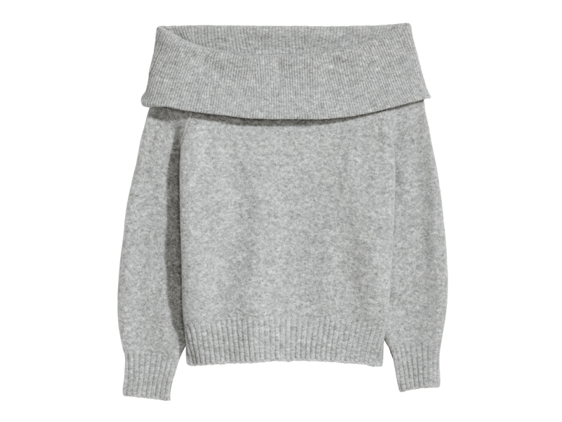 230b9c0a040 Grey jumper by H M available at Mall of the Emirates and City Centres