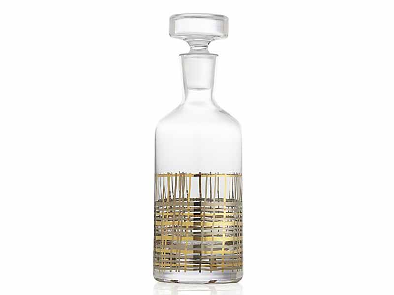 Crystal decanter by Crate & Barrel Dubai, available at Mall of the Emirates