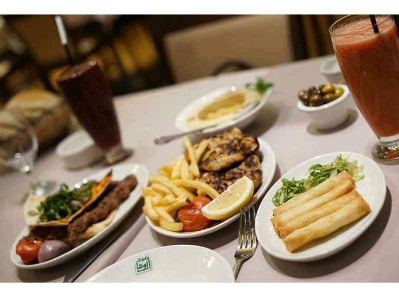 Abd el Wahab Arabic Restaurant in Dubai for Iftar