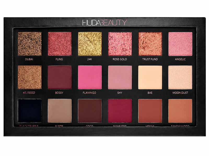 Rose Gold Edition Eyeshadow Palette by Huda Beauty at Sephora Dubai
