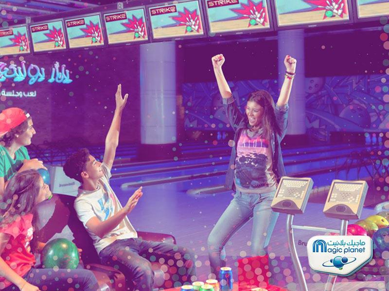 Score a strike and play games at Yalla! Bowling in Dubai
