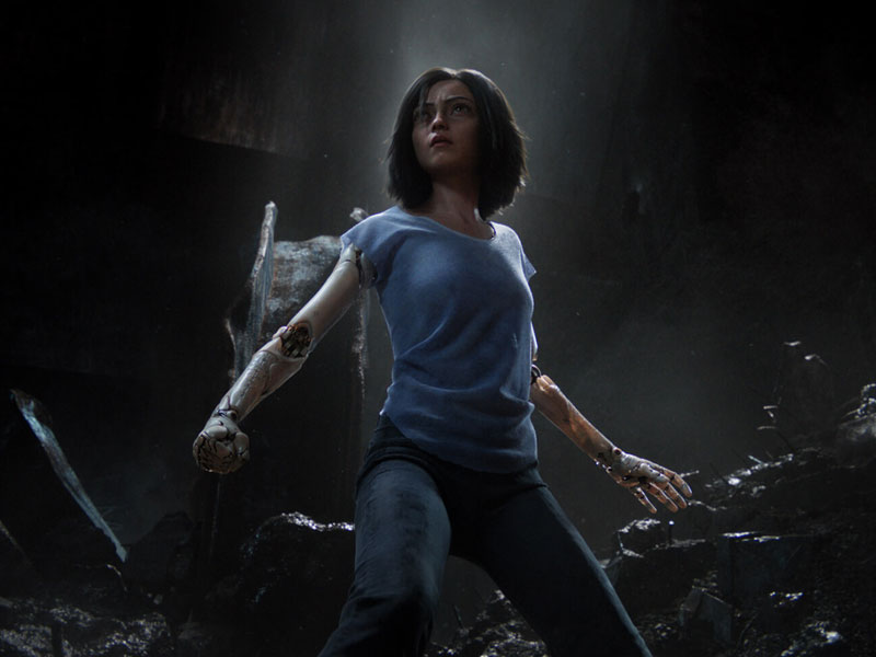 Watch Alita Battle Angel at VOX Cinemas across the Middle East