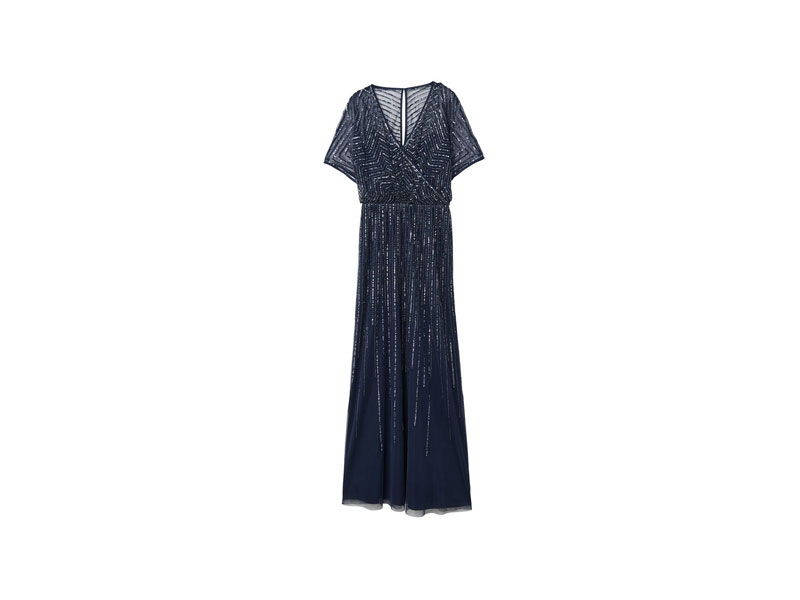 Beaded ladies' dress by Mango, available at Mall of the Emirates and City Centres