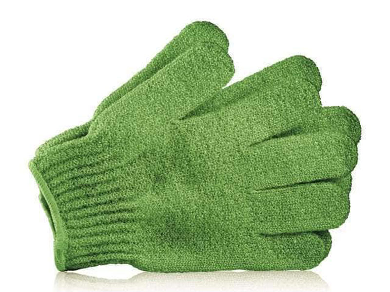Body scrub gloves by The Body Shop, at Mall of Egypt and City Centres