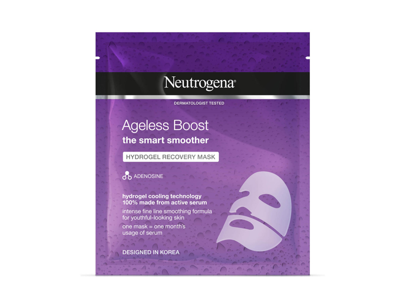 Neutrogena Timeless Boost Recovery Sheet Mask from Carrefour, at City Centre Mirdif