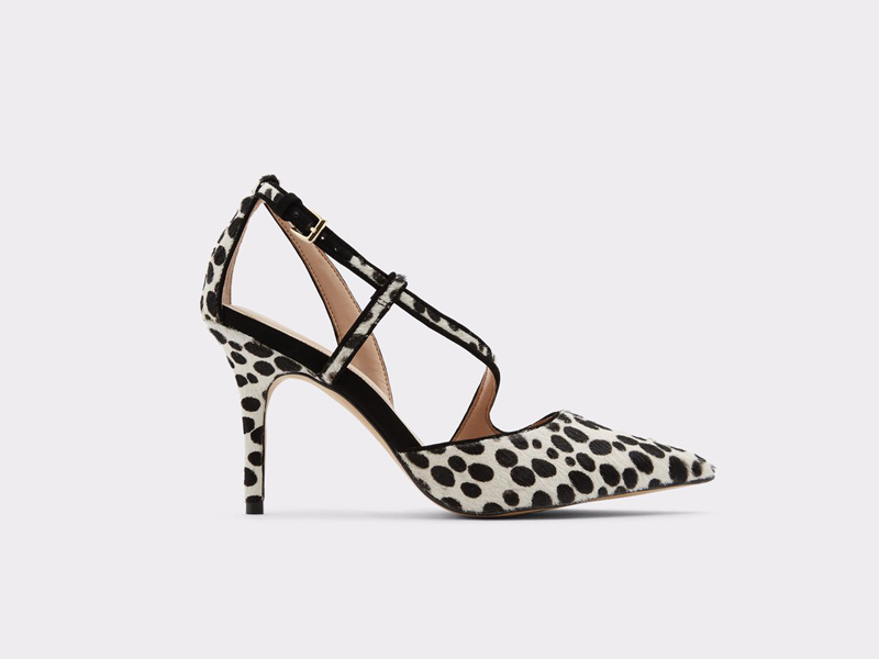 Animal print kitten heels by Aldo, available at City Centre Mirdif