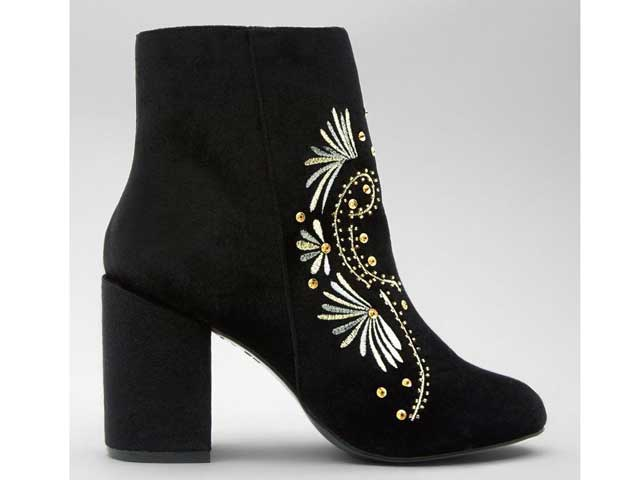 Velvet ankle boots by New Look available at City Centres