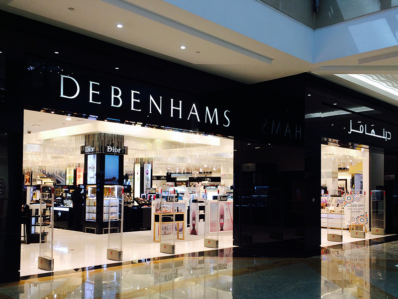 Debenhams Dubai Uae City Centre Mirdif
