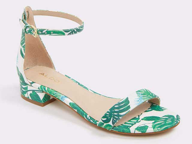 Printed sandals from Aldo at City Centre Mirdif